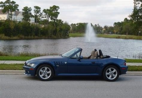 Sell Used 2002 Bmw Z3 Roadster Convertible 2.5 Topaz Blue