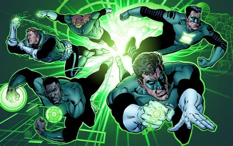 rich reviews everything green lantern a history