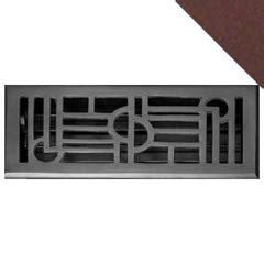 hrv industries 08 210 c 10 brass decorative floor