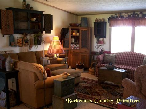 backwoods country primitives living room country primitive primitives and