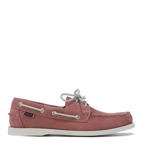 Pink Boat Shoes For Men by Men S Pink Suede Dockside Boat Shoes Sebago Mens