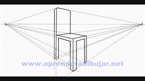 dessin d une chaise en perspective comment dessiner