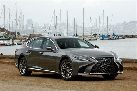 2018 Lexus Ls 500 F Sport Adds Visual Aggression, Handling