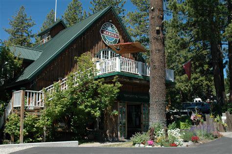 North Lake Tahoe Boat Storage by Tahoe City Marina And Mall Lake Tahoe Guide