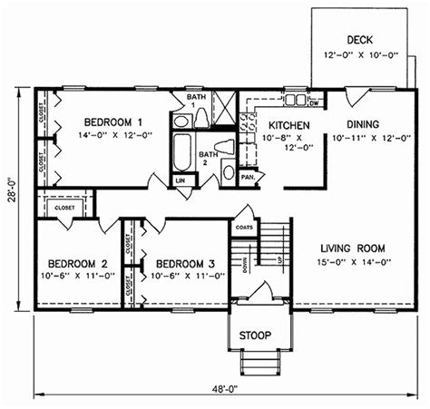 fresh split floor house plans split foyer house plans fresh split foyer floor plans