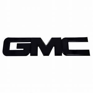 Black GMC Emblem | eBay