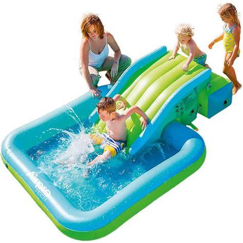 matelas de glisse et piscine gonflable jeux plage et piscine plein air joueclub jou 233 club