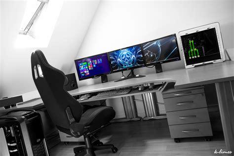 grand bureau gamer le des geeks et des gamers