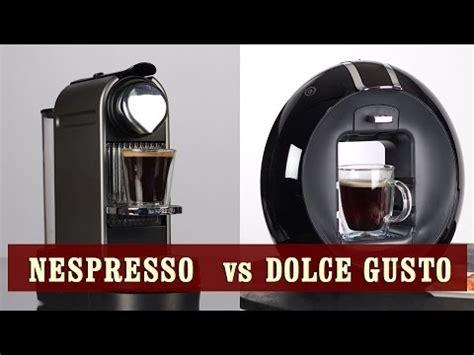 Dolce Gusto vs Nespresso   Review & Comparison   YouTube