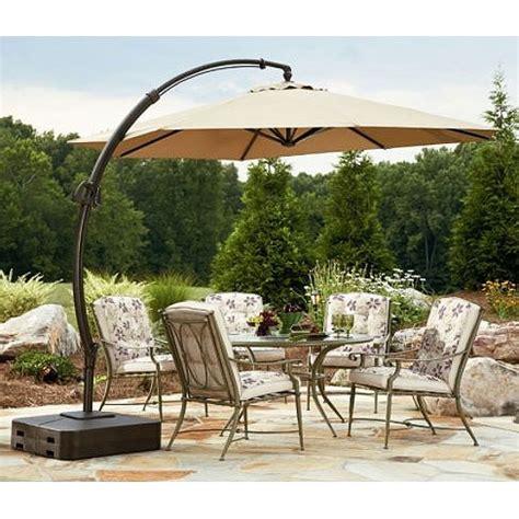 Sears Offset Patio Umbrella by Yjaf 013t Garden Oasis 11 5 Ft Steel Offset