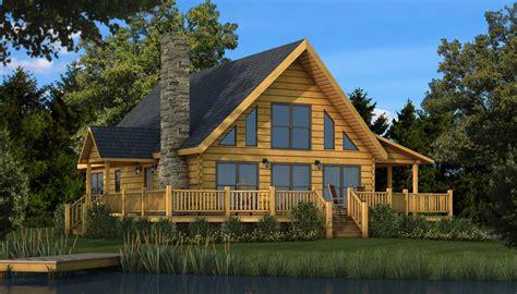 Rockbridge  Plans & Information  Southland Log Homes