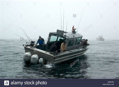 Sport Fishing Boats In Rough Seas aluminum sport fishing charter boat halibut fishing in