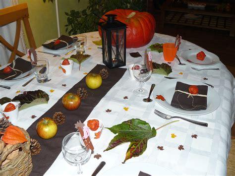 table d automne 171 les bricolages d isa pour la d 233 coration de table