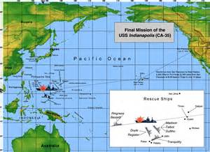 navy history of the uss indaianpolis