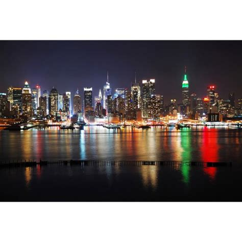 tableau lumineux new york images