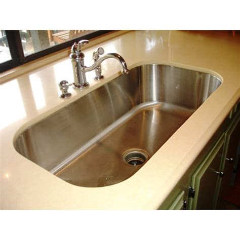 30 Inch Stainless Steel Undermount Single Bowl Kitchen