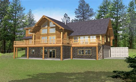 Log Home Plans With Loft Log Home Plans With Basement, Log Casual Backyard Wedding Reception Rose Gardens How To Build A Putting Green Living Abington Ma Playground Mulch Mini House In Large Pond Affordable Makeovers