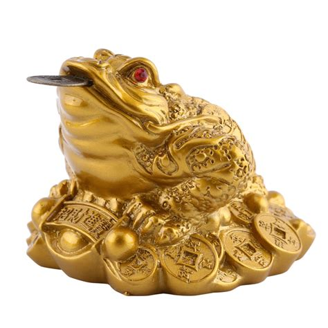 Feng Shui Lucky Golden Money Frog  My Feng Shui Store