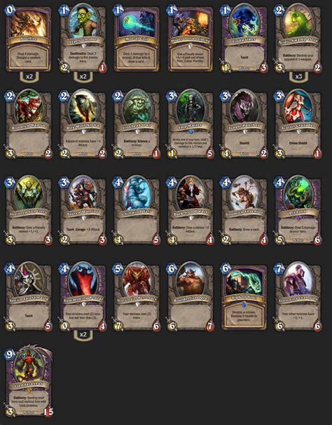 post your 9 0 arena decks the arena hearthstone general hearthpwn forums hearthpwn