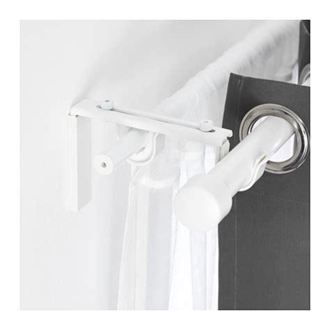 betydlig support de tringle 224 rideau blanc ikea