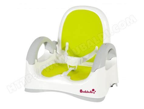 rehausseur de chaise badabulle b009000 pas cher ubaldi
