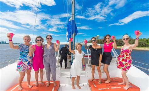 Catamaran Hens Party Gold Coast by Some Of The Best Hens Night Party Ideas In Gold Coast