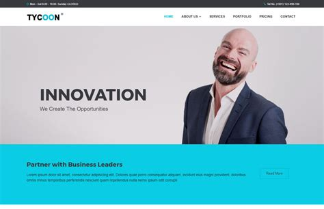 Corporate Bootstrap Html Website Template Free Download