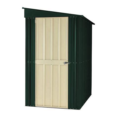 4x8 plastic storage shed lotus 4 x 8 lean to metal storage shed