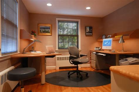 Elegant Decoration Of Small Office Designs With Study