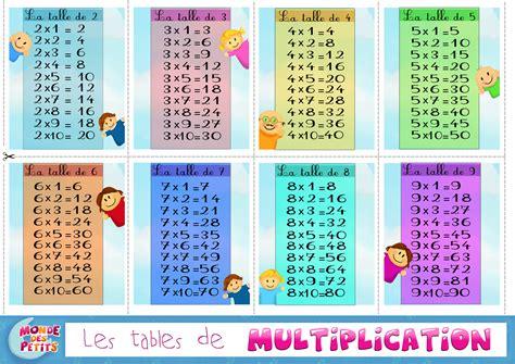 table rabattable cuisine jeux de table de multiplication ce1