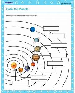 Order the Planets – Solar system worksheets for kids ...