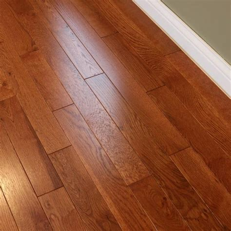 oak gunstock 3 4 x 3 1 4 quot solid hardwood flooring