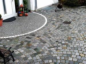 Hauseingang Pflastern Ideen : hauseing nge aus naturstein steinkunst schwaben ~ Markanthonyermac.com Haus und Dekorationen