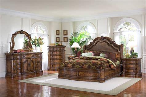 Furniture : Pulaski Furniture San Mateo-pc Sleigh Bedroom Set-usa