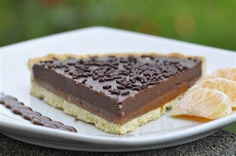 tarte au chocolat et caramel au beurre sal 233 cuisine avec du chocolat ou thermomix mais