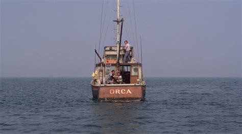 Jaws Fishing Boat Scene by Still Need A Bigger Boat 40 Years Of Jaws Movie