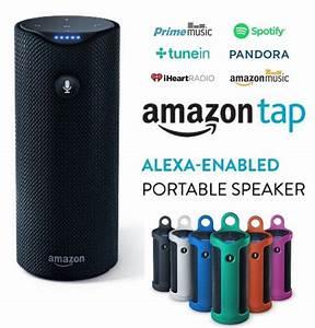 Amazon Tap - Alexa-Enabled Portable Bluetooth Speaker for ...
