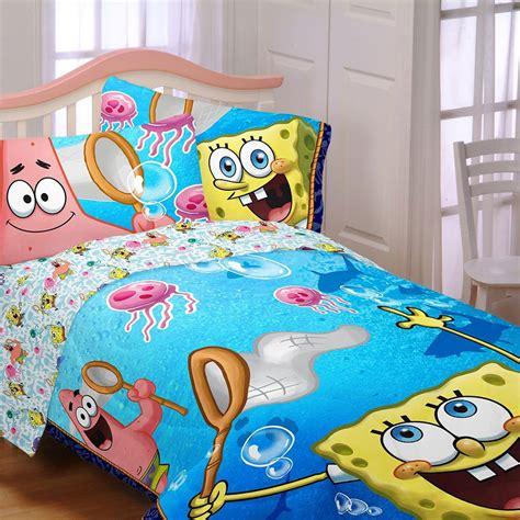 spongebob jellyfishing sheet set sheets bed sale 29 99 bestest