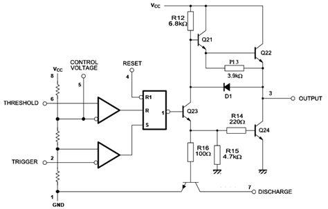 Timer 555 Datasheet Astable 555 Supply Voltage Dependent