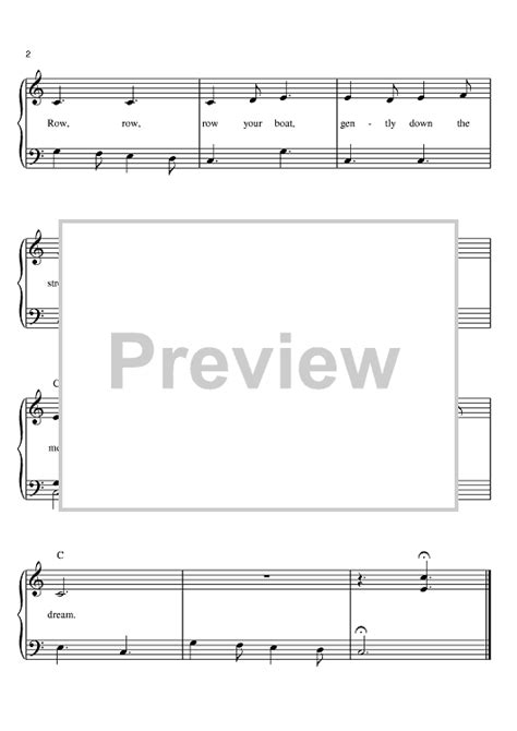 Row Row Row Your Boat Chinese Lyrics by Row Row Row Your Boat Sheet Music For Piano And More