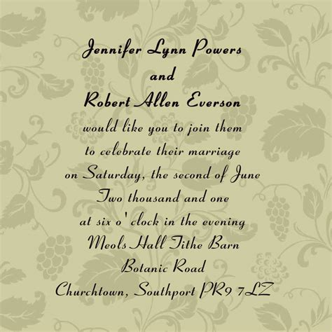 Unique Wedding Invitation Wording  Marina Gallery Fine Art. Orchid Wedding Cake Ideas. Wedding Quotes Nephew. How To Plan A Wedding When In Military. Outdoor Wedding Aisle Ideas. Wedding Dresses Inspired By Great Gatsby. Wedding Destinations Bora Bora. Outdoor Wedding Ceremony Checklist. Wedding Decorations Lavender