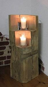 Holz Dekoration Modern : ber ideen zu holzdeko auf pinterest holzpfosten holzdeko weihnachten und holzpilze ~ Markanthonyermac.com Haus und Dekorationen