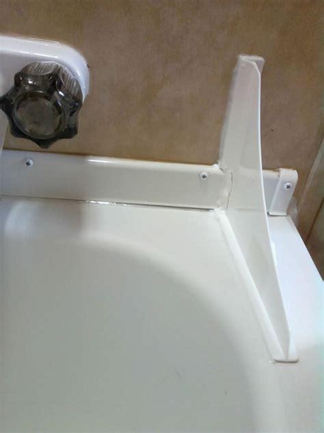 bathtub side water stopper shower and bathtub splash guard 171 bathroom design
