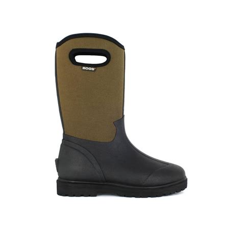 Rubber Boots Home Depot by Bogs Roper Men 13 In Size 12 Black Rubber With Neoprene
