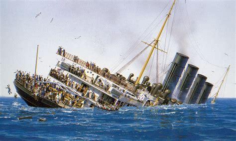 rms lusitania going lusitania