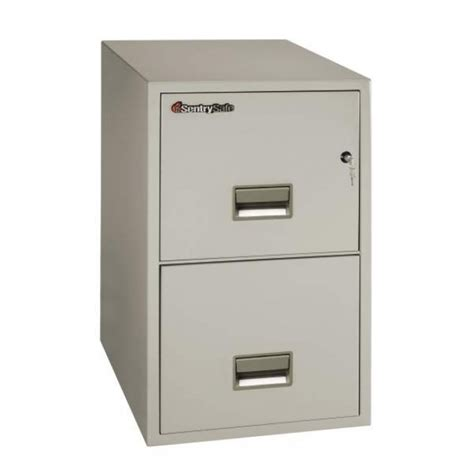 sentry 2t3131 2 drawer letter file cabinet with rating fireproof files free shipping