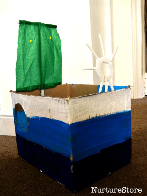 Easy Cardboard Boat Making by Be A Sailor Make A Boat