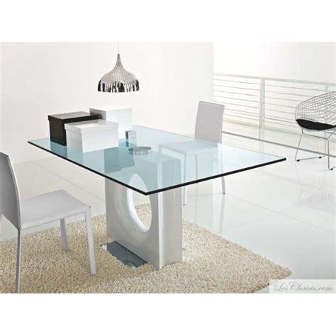 tables en verre table verre sur enperdresonlapin