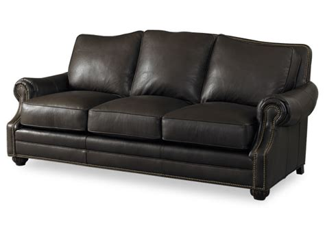 bradington leather sofa