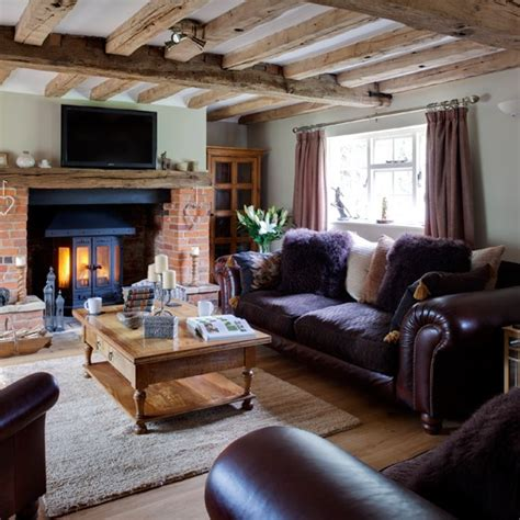 country living room ideas uk purple and wood country living room housetohome co uk